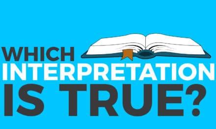 Which interpretation is true?